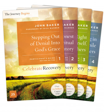 Celebrate Recovery Updated Participant's Guide Set, Volumes 1-4 - Softcover