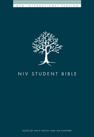 NIV Student Bible - Hardcover With printed dust jacket