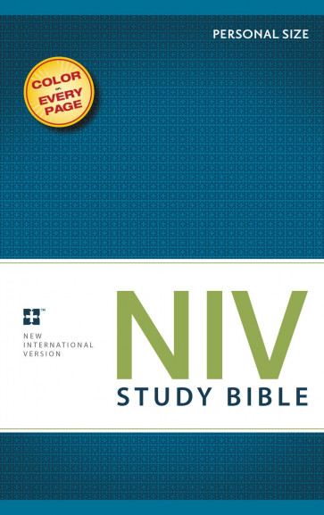 NIV Study Bible Personal Size - Softcover