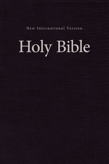 NIV Church Bible - Hardcover Black