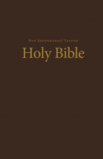 NIV Church Bible - Hardcover Brown