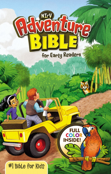 NIrV, Adventure Bible for Early Readers, Paperback, Full Color - Softcover