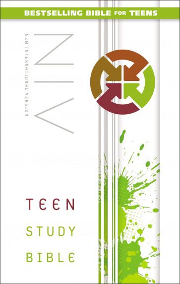 Teen Study Bible, NIV - Hardcover
