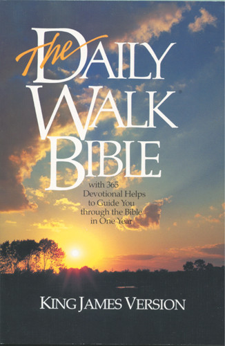The Daily Walk Bible: KJV - Softcover