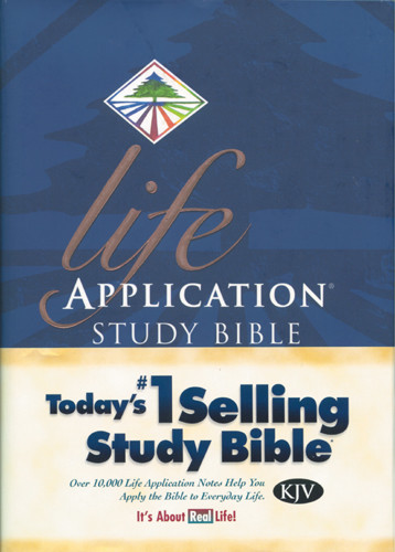 Life Application Study Bible KJV - Hardcover With thumb index