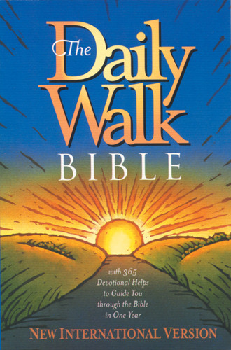 The Daily Walk Bible: NIV - Softcover