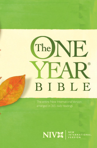 The One Year Bible NIV - Hardcover
