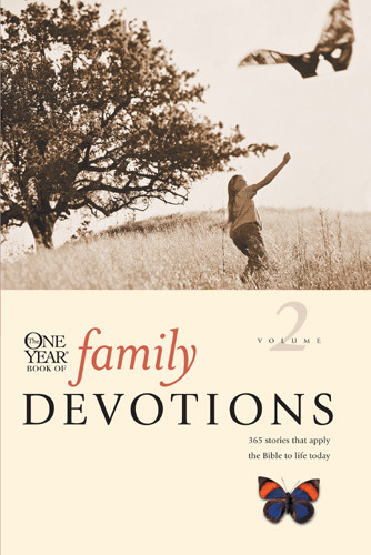 The One Year Book of Family Devotions Volume 2 - Softcover