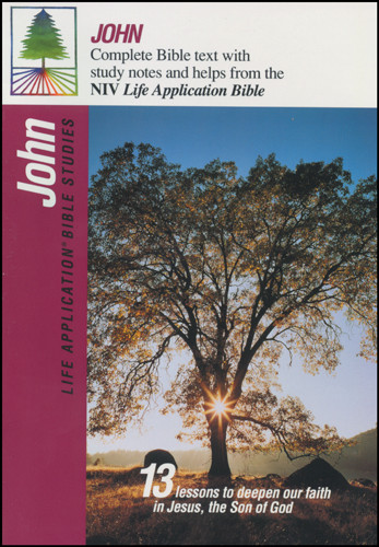 Life Application Bible Studies: John: NIV - Softcover