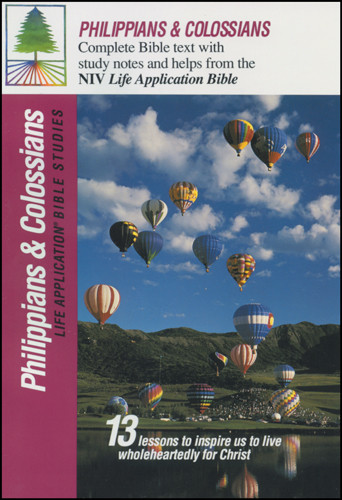 Life Application Bible Studies: Philippians & Colossians: NIV - Softcover