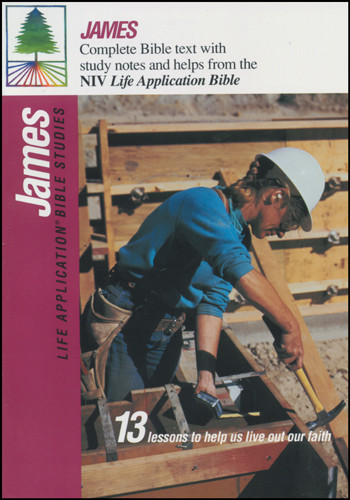 Life Application Bible Studies: James: NIV - Softcover