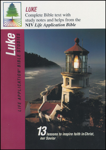 Life Application Bible Studies: Luke: NIV - Softcover