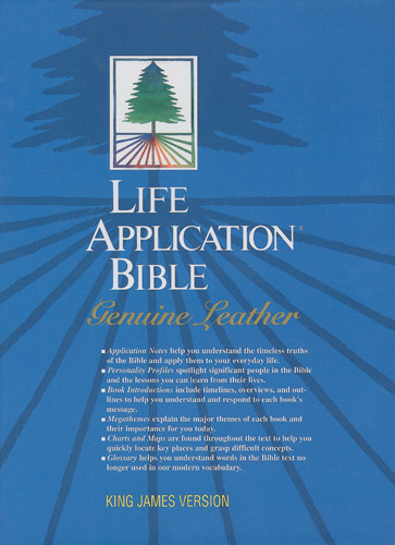 Life Application Bible: KJV - Genuine Leather Black