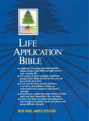 Life Application Bible: NKJV - Bonded Leather Burgundy