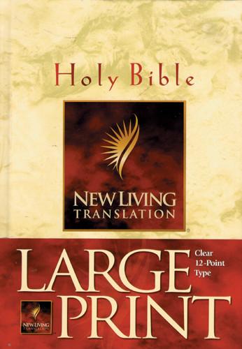 Large Print Bible: NLT1 - Hardcover