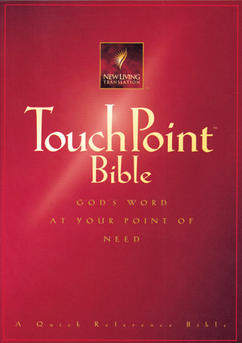 TouchPoint Bible NLT - Hardcover Red