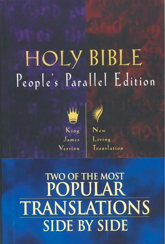 People's Parallel Edition KJV/NLT - Hardcover