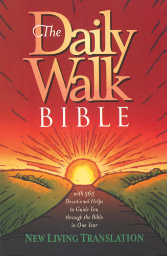 The Daily Walk Bible: NLT1 - Softcover