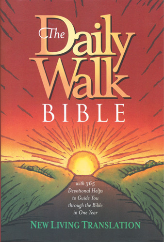 The Daily Walk Bible: NLT1 - Hardcover