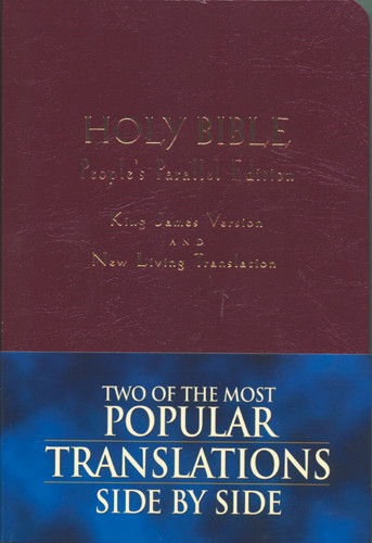 People's Parallel Edition KJV/NLT - Imitation Leather Burgundy