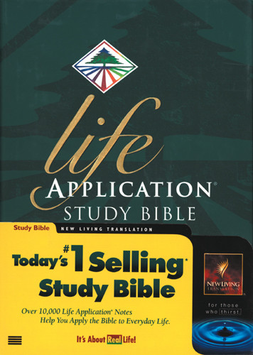 Life Application Study Bible: NLT1 - Hardcover