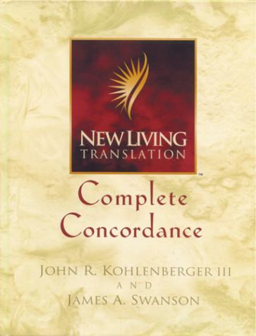 New Living Translation NLT Complete Concordance - Hardcover