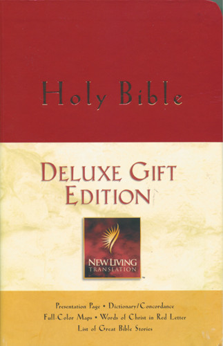 Holy Bible, Deluxe Gift Edition: NLT1 - Imitation Leather Burgundy