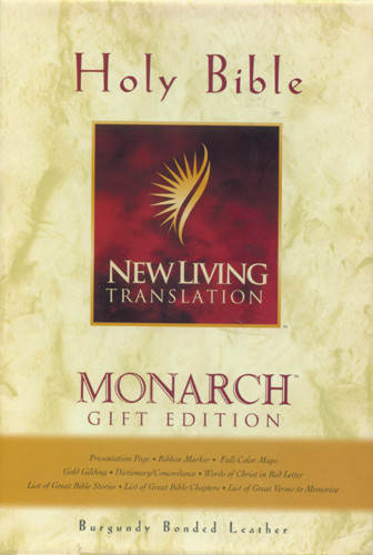 Monarch Gift Edition: NLT1 - Bonded Leather Burgundy
