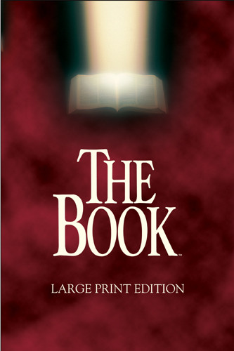 The Book Large Print: NLT1 - Hardcover