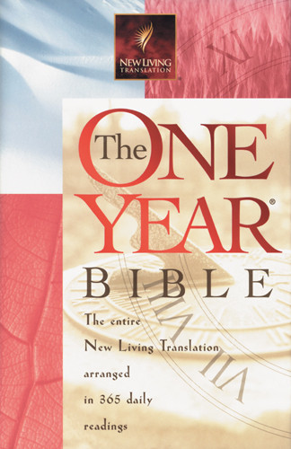 The One Year Bible: NLT1 - Hardcover With printed dust jacket