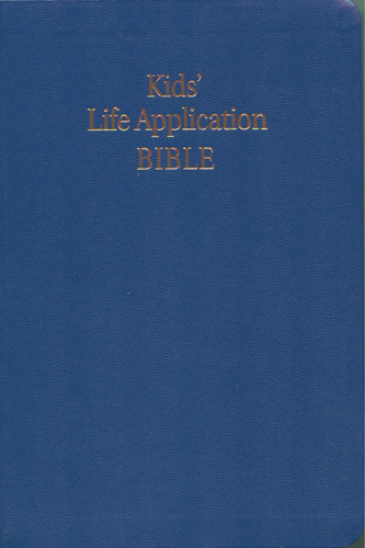 Kid's Life Application Bible: NLT1 - Imitation Leather Navy