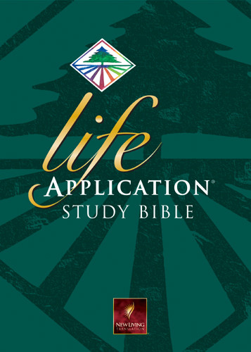 Life Application Study Bible Large Print: NLT1 - Hardcover With printed dust jacket