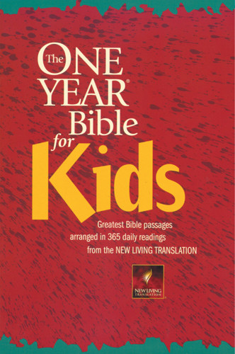The One Year Bible for Kids: NLT1 - Softcover