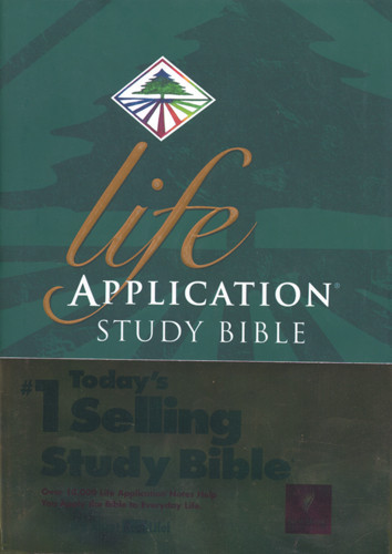 Life Application Study Bible: NLT1 - Hardcover With thumb index
