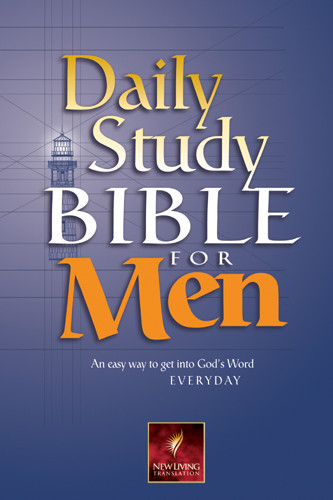 Daily Study Bible for Men: NLT1 - Hardcover