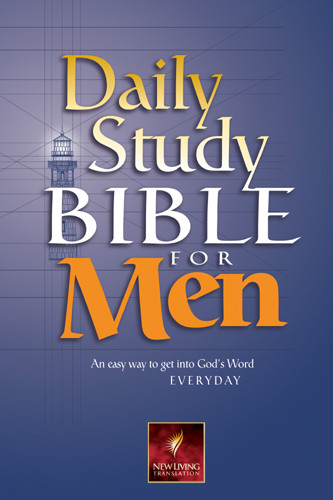 Daily Study Bible for Men: NLT1 - Softcover