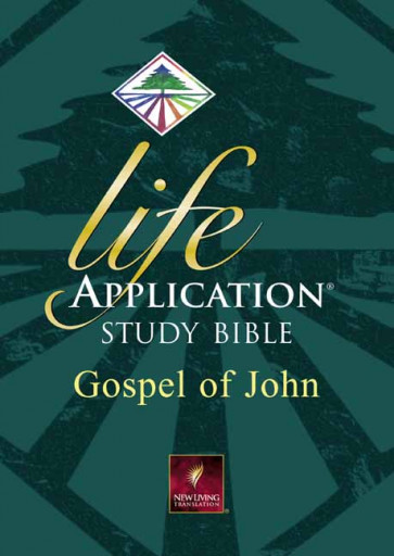 Life Application Study Bible, Gospel of John - Softcover