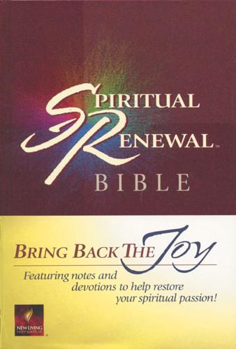 Spiritual Renewal Bible: NLT1 - Hardcover