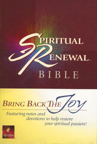 Spiritual Renewal Bible: NLT1 - Hardcover With thumb index