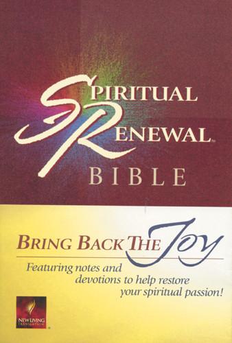 Spiritual Renewal Bible: NLT1 - Softcover