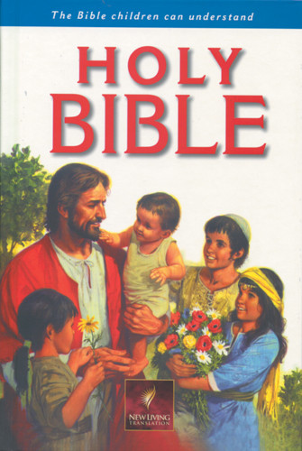 Holy Bible, Children's Edition: NLT1 - Hardcover Blue