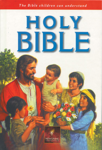Holy Bible, Children's Edition: NLT1 - Hardcover Red