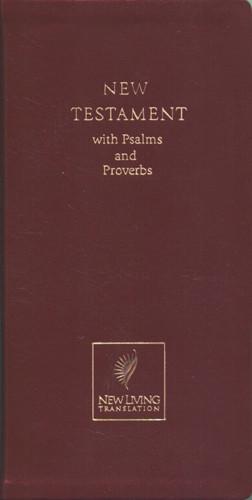 Pocket Thinline New Testament: NLT1 - Imitation Leather Burgundy