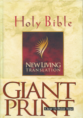 Holy Bible, Giant Print: NLT1 - Hardcover