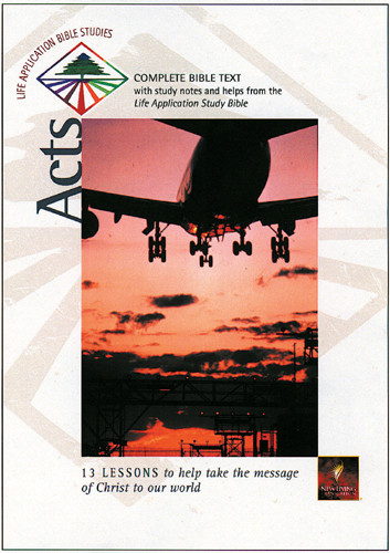 Life Application Bible Studies: Acts: NLT1 - Softcover
