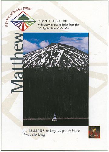 Life Application Bible Studies: Matthew: NLT1 - Softcover
