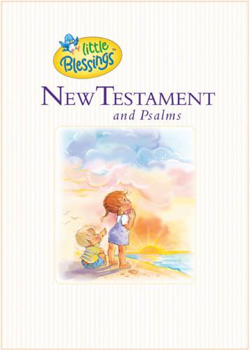 Little Blessings New Testament & Psalms - Hardcover