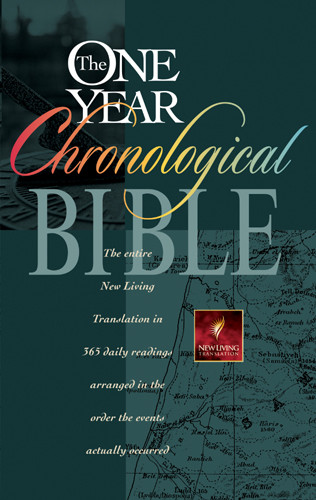 The One Year Chronological Bible: NLT1 - Hardcover