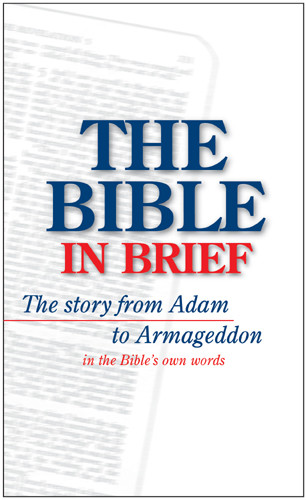 The Bible in Brief - Softcover