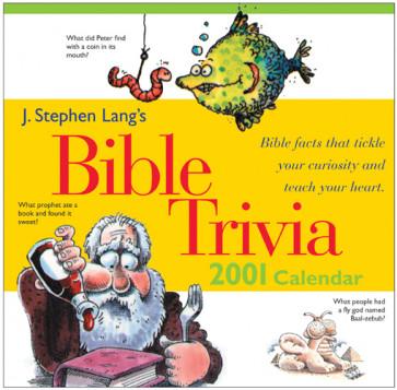 J. Stephen Lang's Bible Trivia 2001 Calendar - Calendar